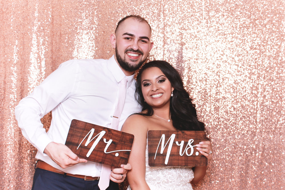 San Antonio Zaza Gardens Wedding 5050 Photo Booth