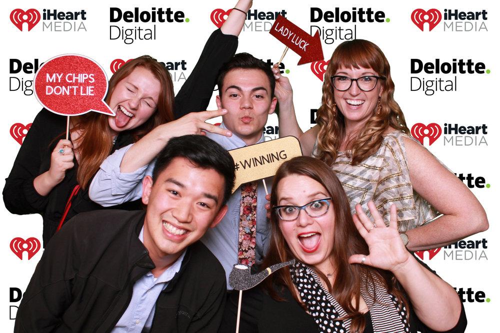 iHeartMedia & Deloitte Digital Event 5050 Photo Booth San Antoni