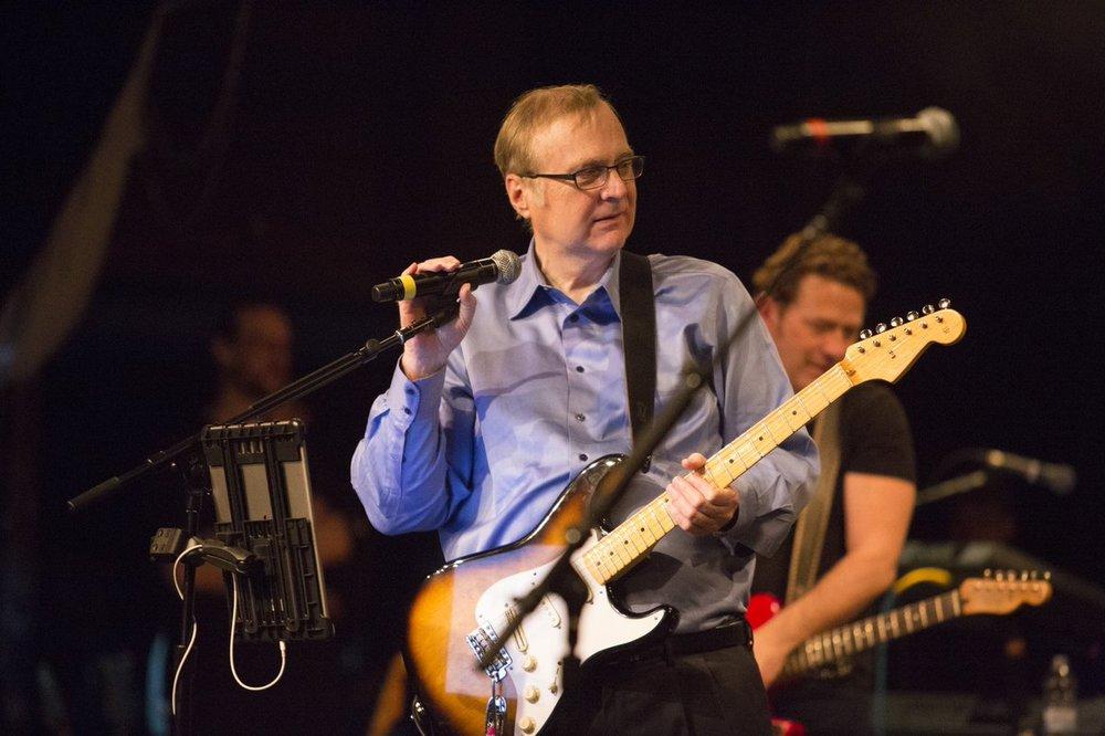 Paul G. Allen, shredding in April 2016
