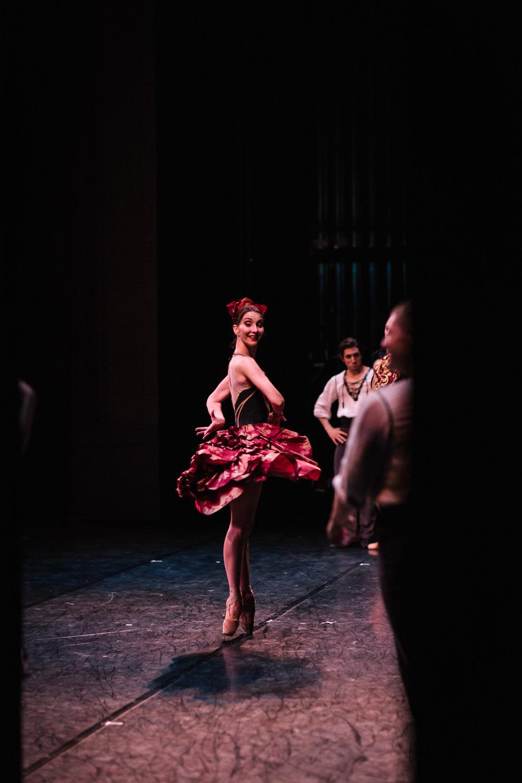 Ana da Costa in Ron Cunningham's  Carmen  | Photo: Sam Zauscher