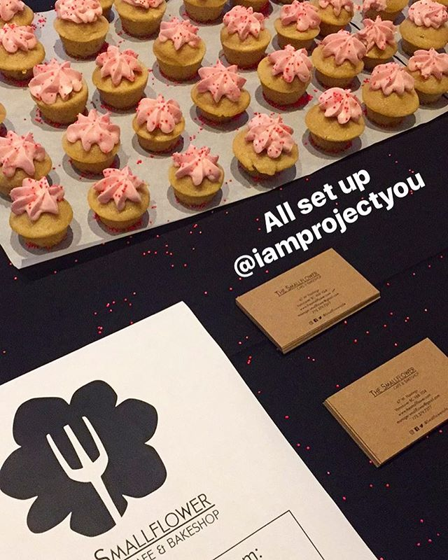 We're ready and waiting for all the guests at @iamprojectyou 💞🎉👯 • • • #iamprojectintention #vancouvereats #vancouver #vancouverisawesome #glutenfree #vegan #vancouvervegan #vancouverfood #vancitybuzz #vancity #dailyhivevan #gastown #glutenfreevancouver #vancityvegans #vanfitfam #glutenfreeyvr #vancouverbakery #vegansofInstagram #yvr #vegantreats #cafeyvr #huffpostbc #gastropost #eatcouver #foodcouver #vanfoodies365 #vancouverfoodie #vancouvereats #eatlocal #feedfeed