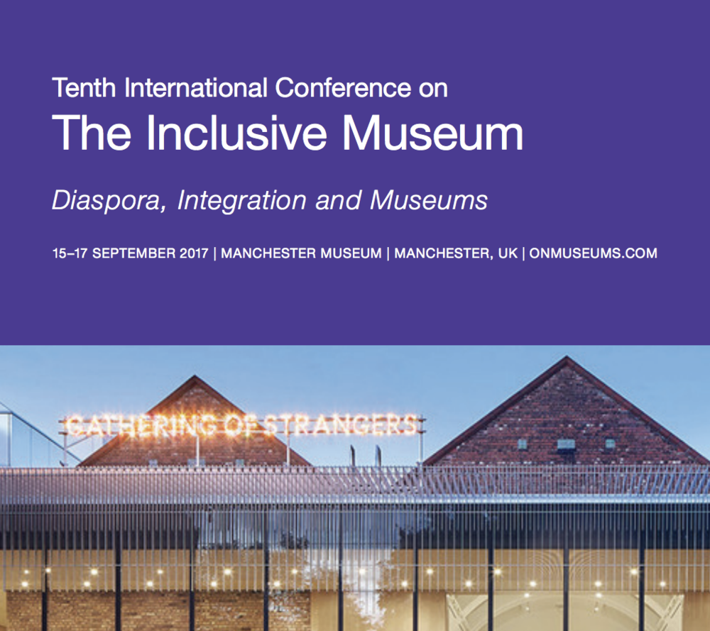 The Inclusive Museum Conference, September 2017 - María Paula García Mosquera presents her essay on Look at Art. Get Paid,