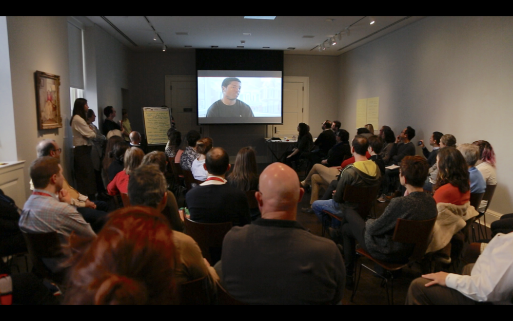 We presented the feedback of the guest critics at an all-staff dialogue at the RISD Museum. - We showed a video featuring the guest critics, followed by a conversation amongst museum staff.