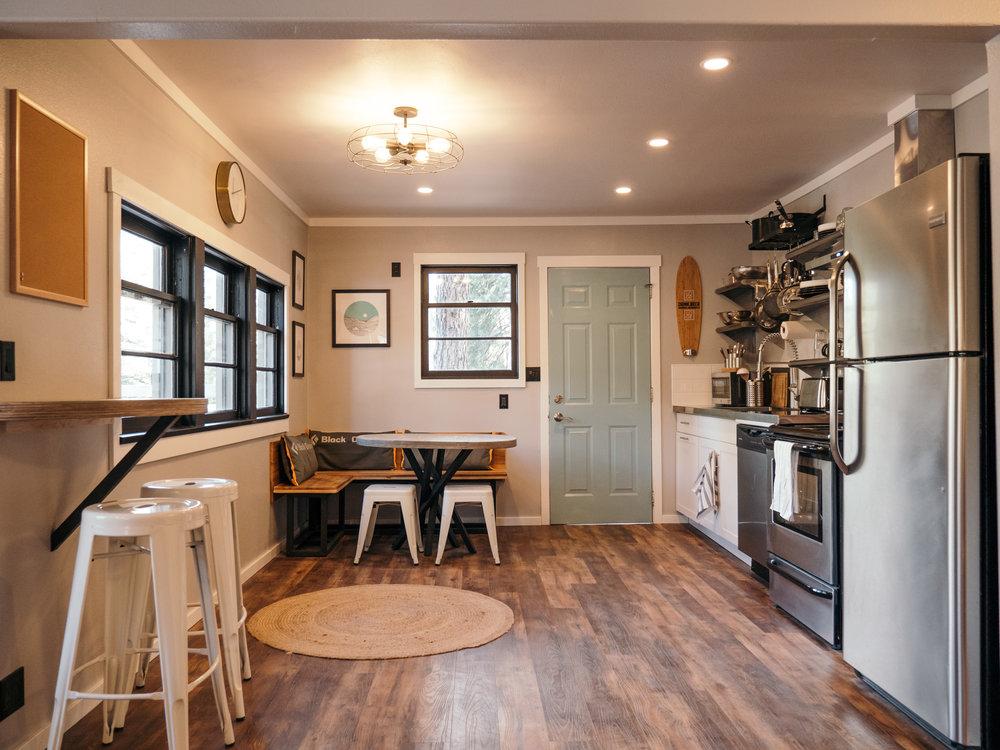interior of the kitchen at leavenworth 1