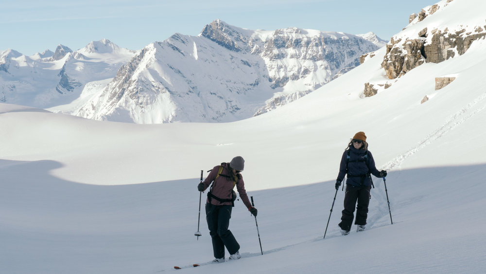 skiers at stevens pass in leavenworth during the odd season
