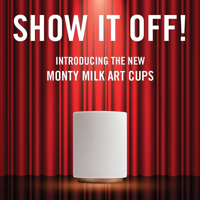 New Product Alert 🚨  Whether you're a pro or home barista looking to perfect those latte art skills, these are the cups for you! Check the website for details. . . . #shop #latteart #coffeeaccessories #fellowproducts #Montycups
