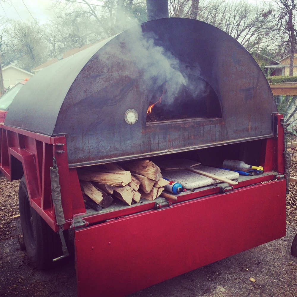 Buy Custom Built Mobile Wood Fired Pizza Trailer Oven Start A Catering BusinessJPG