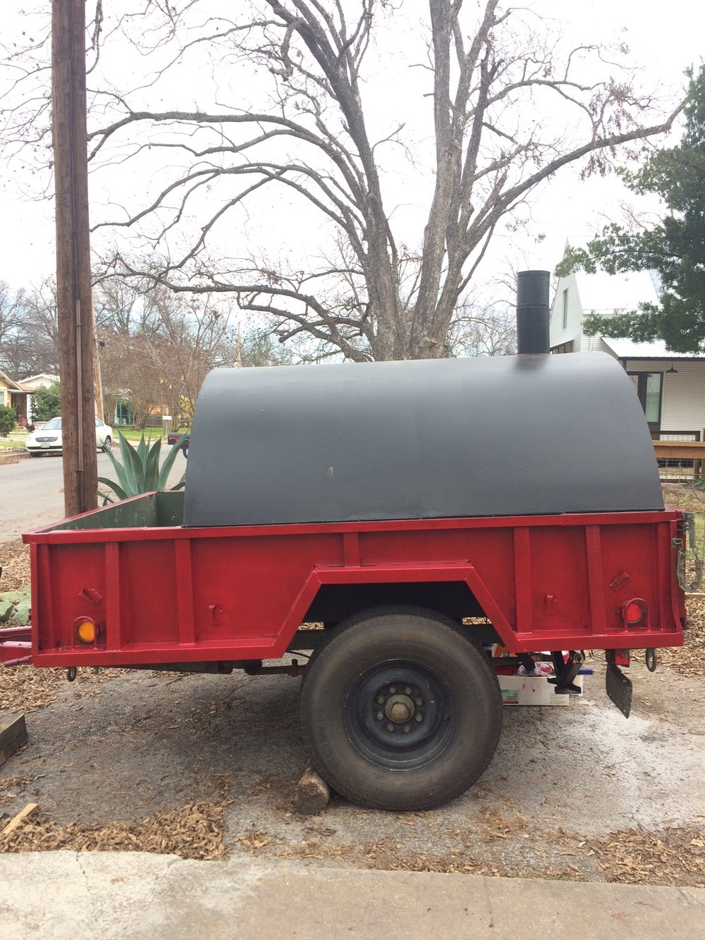 Mobile Wood Fired Pizza Trailer Oven for Sale Start a Catering Business.JPG