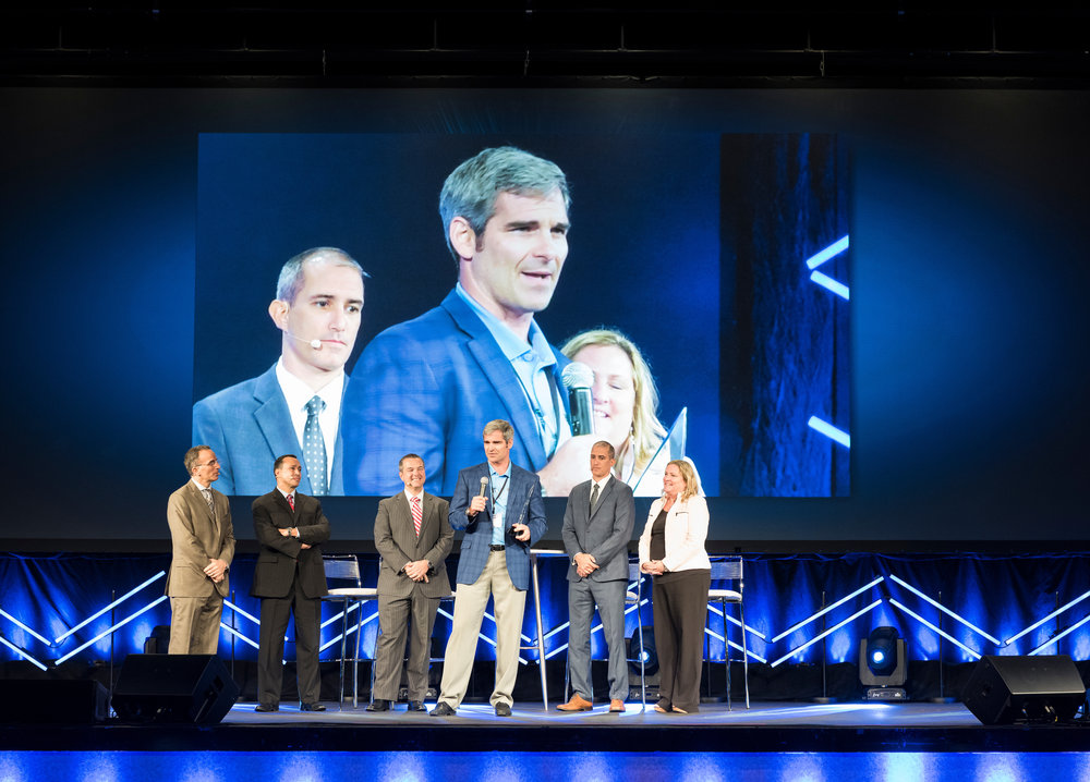 On October 1, 2016 the first  Arthrex Medical Education Award was presented to Elite Orthopedics, LLC.  John Purcell accepted the award in front of the Arthrex National Salesforce and corporate employees at the American Academy of Technology.