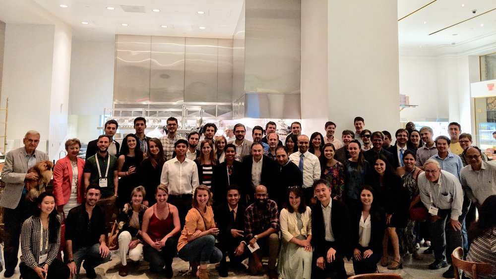 Current Stanford students, alumni, and professors took over a restaurant in downtown LA.