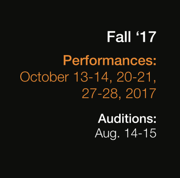 Click on Audition in the image above for the Online Audition Form.
