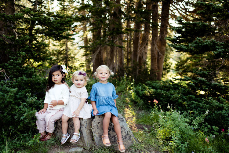 Sweet Remi in the middle is wearing the polka dot dress with bows that accent the plum perfectly:  https://www.zara.com/us/en/kids/baby-girl-%7C-3-months---4-years/dresses/polka-dot-dress-with-bows-c269278p4760106.html