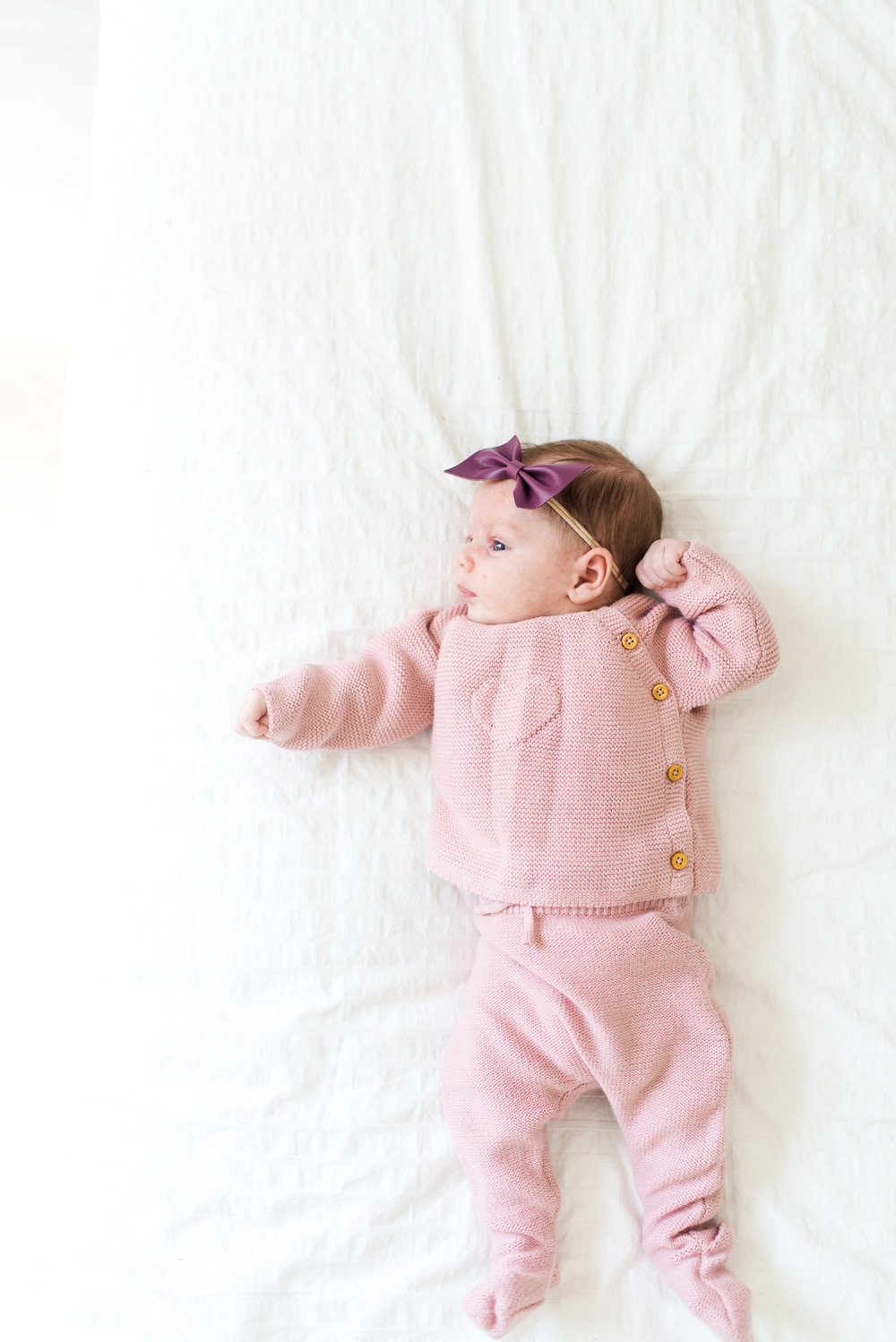 Sweet baby girl basic sweater and leggings:  https://www.zara.com/us/en/kids/mini-%7C-0-12-months/knitwear/-c760002p4997572.html