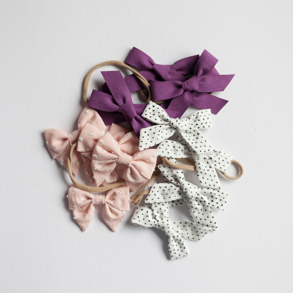 February bows. Subscribe here!