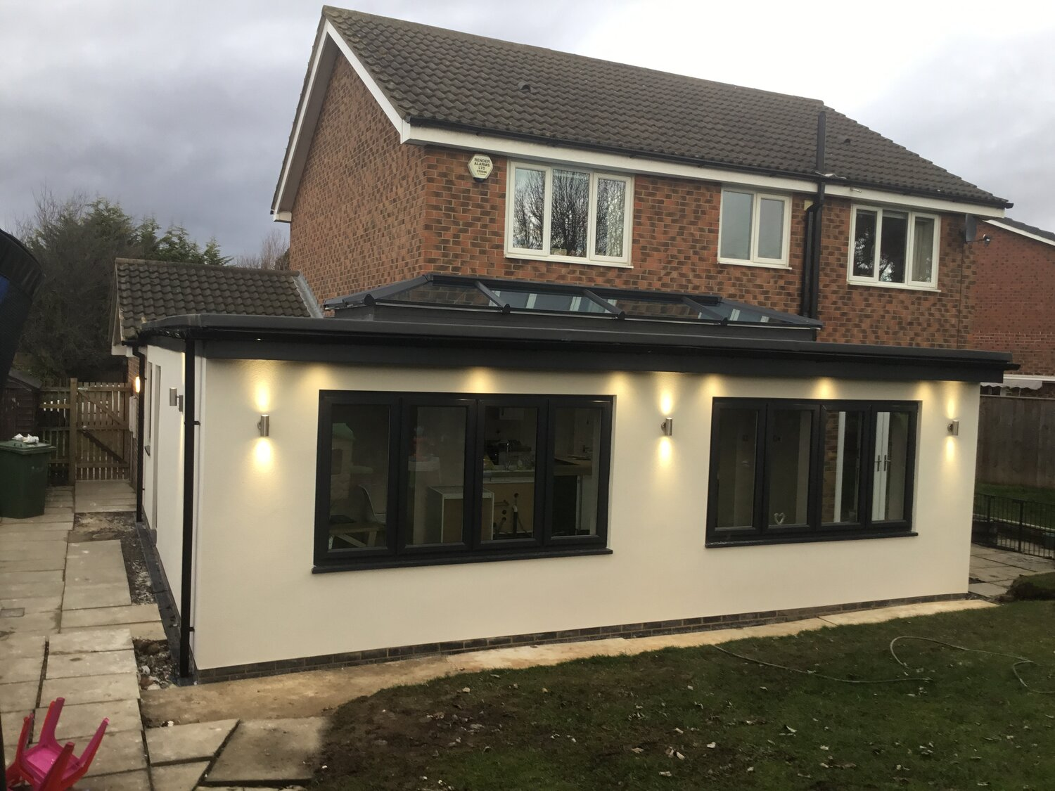 Conservatory To Wrap Around Orangery And Open Plan Kitchen With Utility The Build Directory