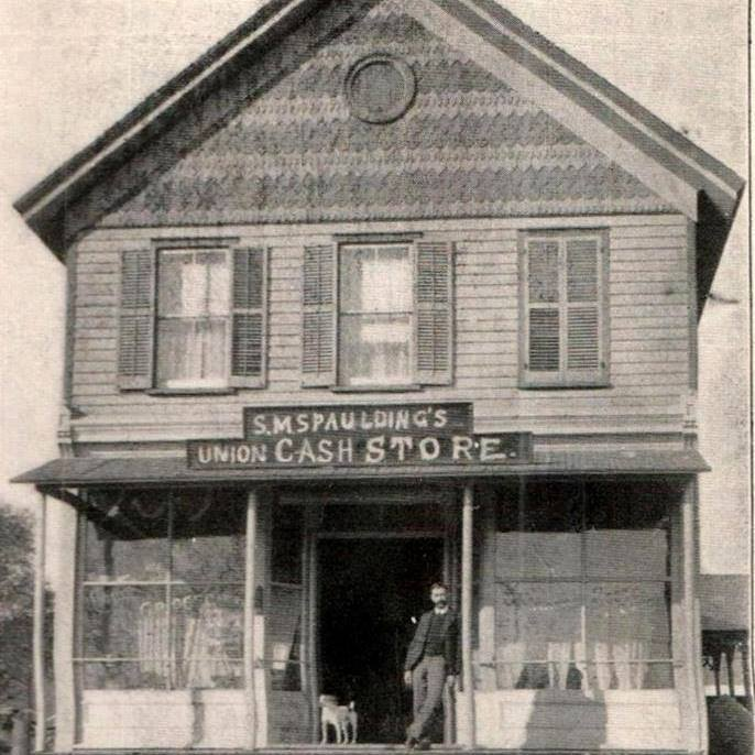 The Random Harvest building back in the 1800's