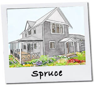Inglenook's Spruce Cottage Home