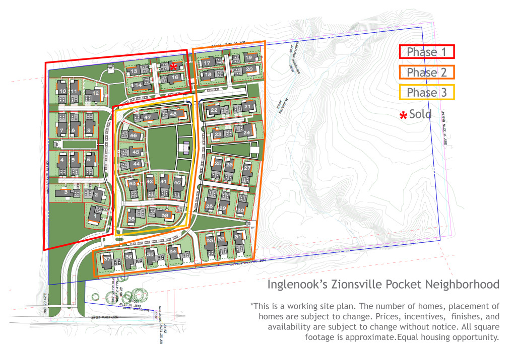 Inglenook's Zionsville Pocket Neighborhood