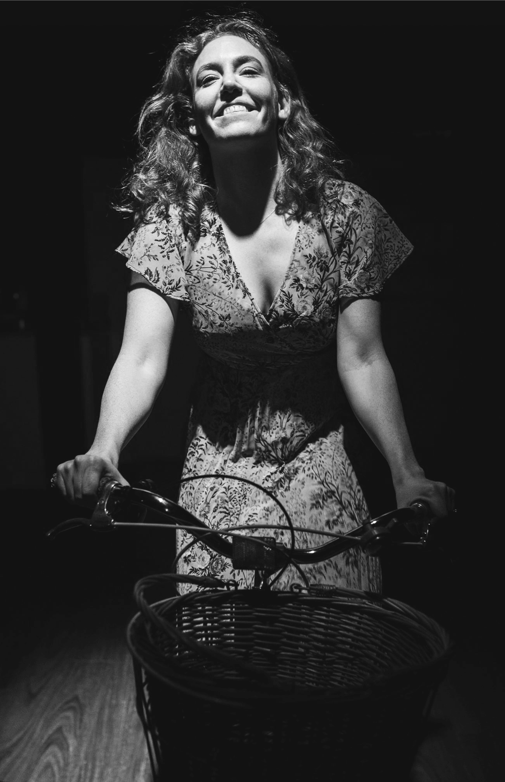 Gabrielle Scawthorne in The Village Bike, 2017 (Photography by Andre Vasquez)