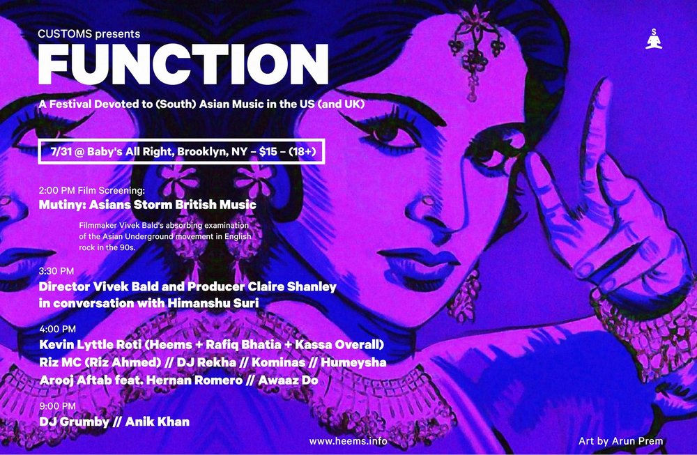 FUNCTION : A Festival Devoted to (South) Asian Music in the US (and UK)