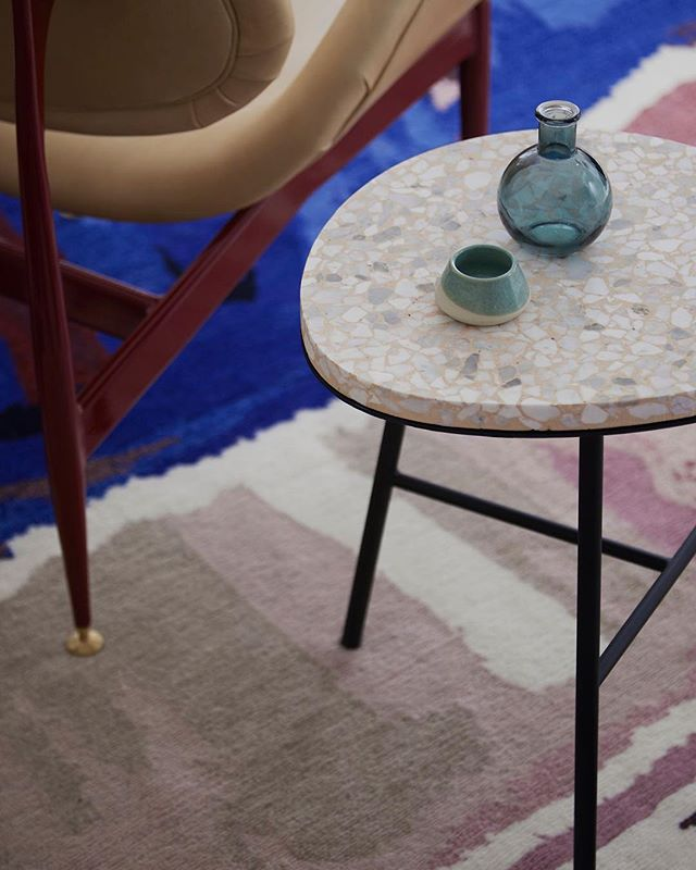 One of our SameSame® stools with a terrazzo top. See all terrazzo colours on our website. This stunning project was designed by @the_northbourne_effect. Photography by @TatjanaPlitt #perfpad⠀ ⠀ .⠀ .⠀ .⠀ .⠀ ⠀ #colour #color #colourful #interiors4all #archdaily #architizer #architecturelover #designresearch #artwork #arte #artistic #interiors123 #interiordesigns #stunning #interiordecor #interiordecoration #interiorsinspo #interiorstyle #designanddecoration #designer #designerstyle  #lifestyle #architecture_hunter #artsytecture #building #architexture