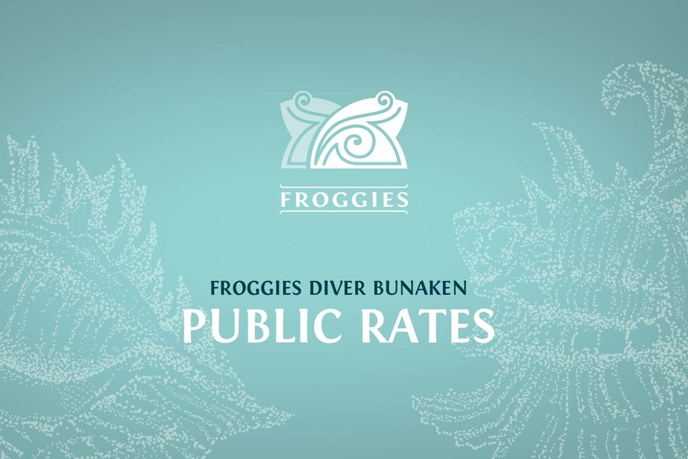 Click to Download Froggies Diver Bunaken - Public Pricelist