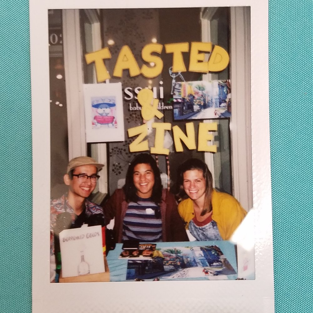 Tasted and Zine Collective.
