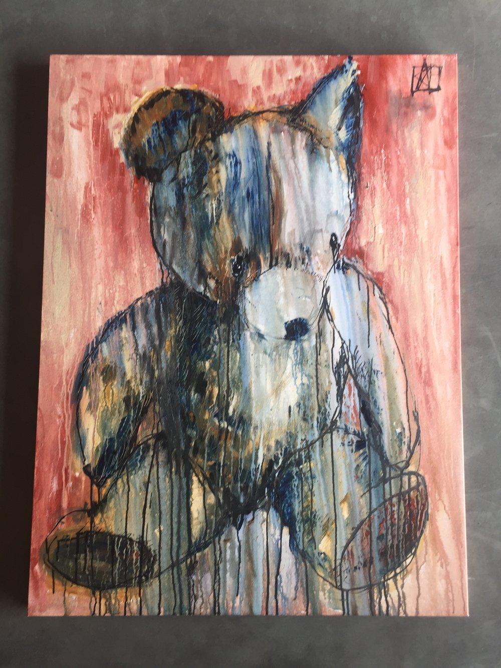 Pagana, Vintage Teddy Bear.JPG
