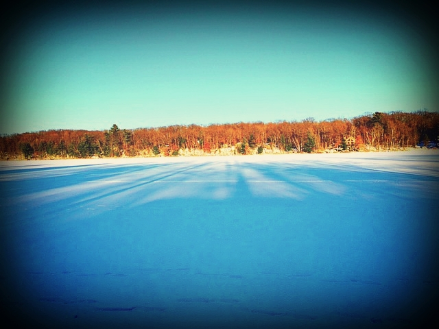 winter big blake lake