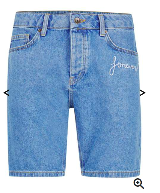 Jean shorts are one of my summer favs. You can also make them by yourself at home. -