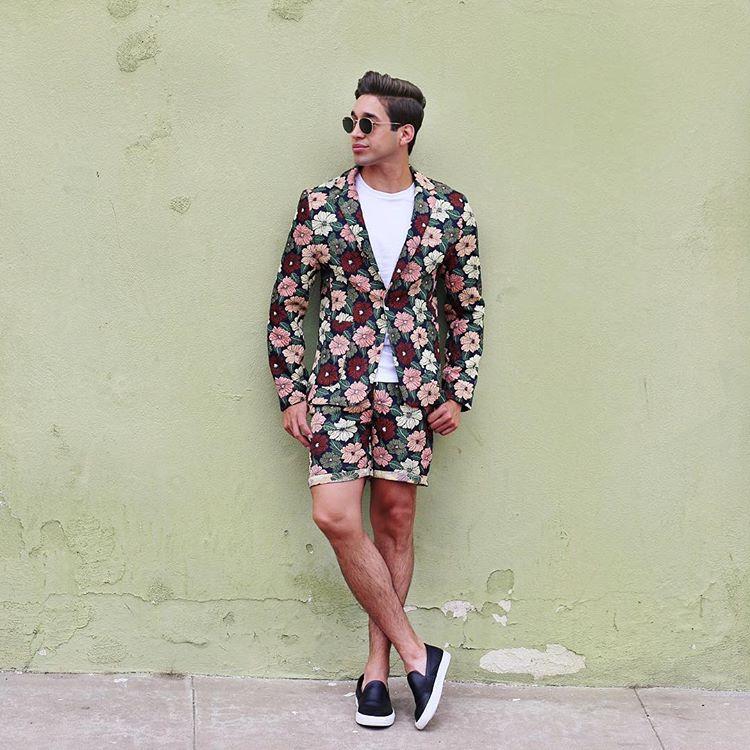 Blazer x Shorts -