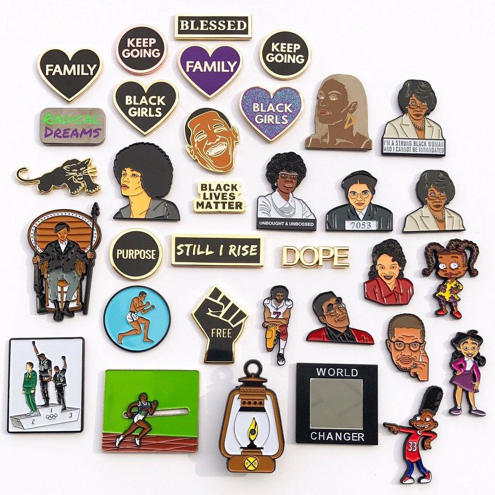 Coloring Pins -