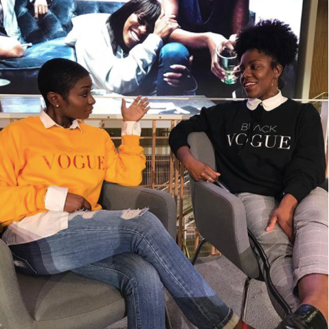 AVENUE N - Most famous for her #BlackVogue gear, Nareasha Willis created a blog to express her passion for fashion and artistry. She started the #BlackVogue campign to promote divesity on and off the run-way. Shop below for dope sweatshirts.