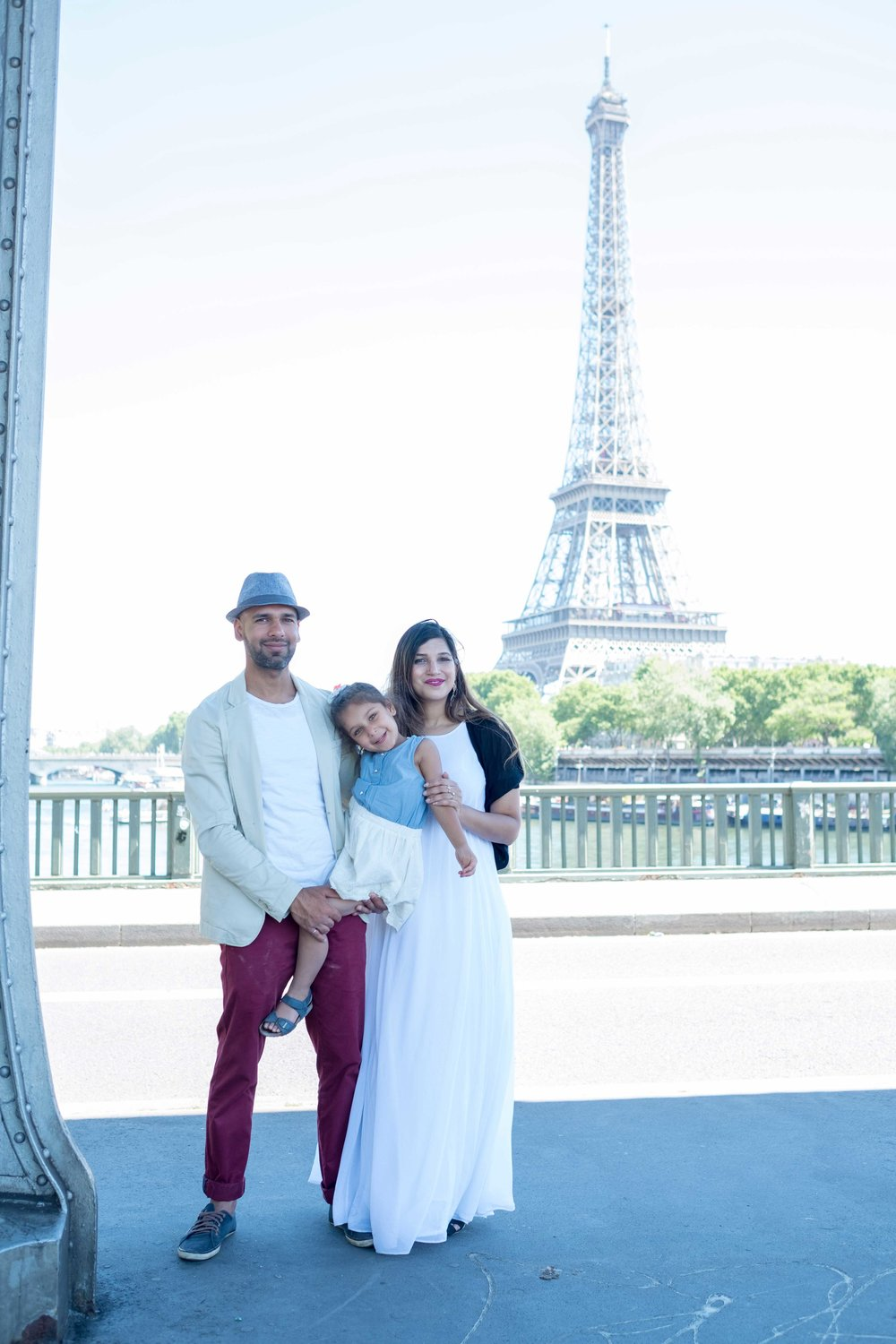 gaya family - What do you get when you take a beautiful mom-to-be, a stylish dad, and an impossibly adorable three-year old and put them in Paris? Adorable family photos with Paris as a backdrop!I loved working with this family, and wish them so much happiness with the new addition to their family!See more images here