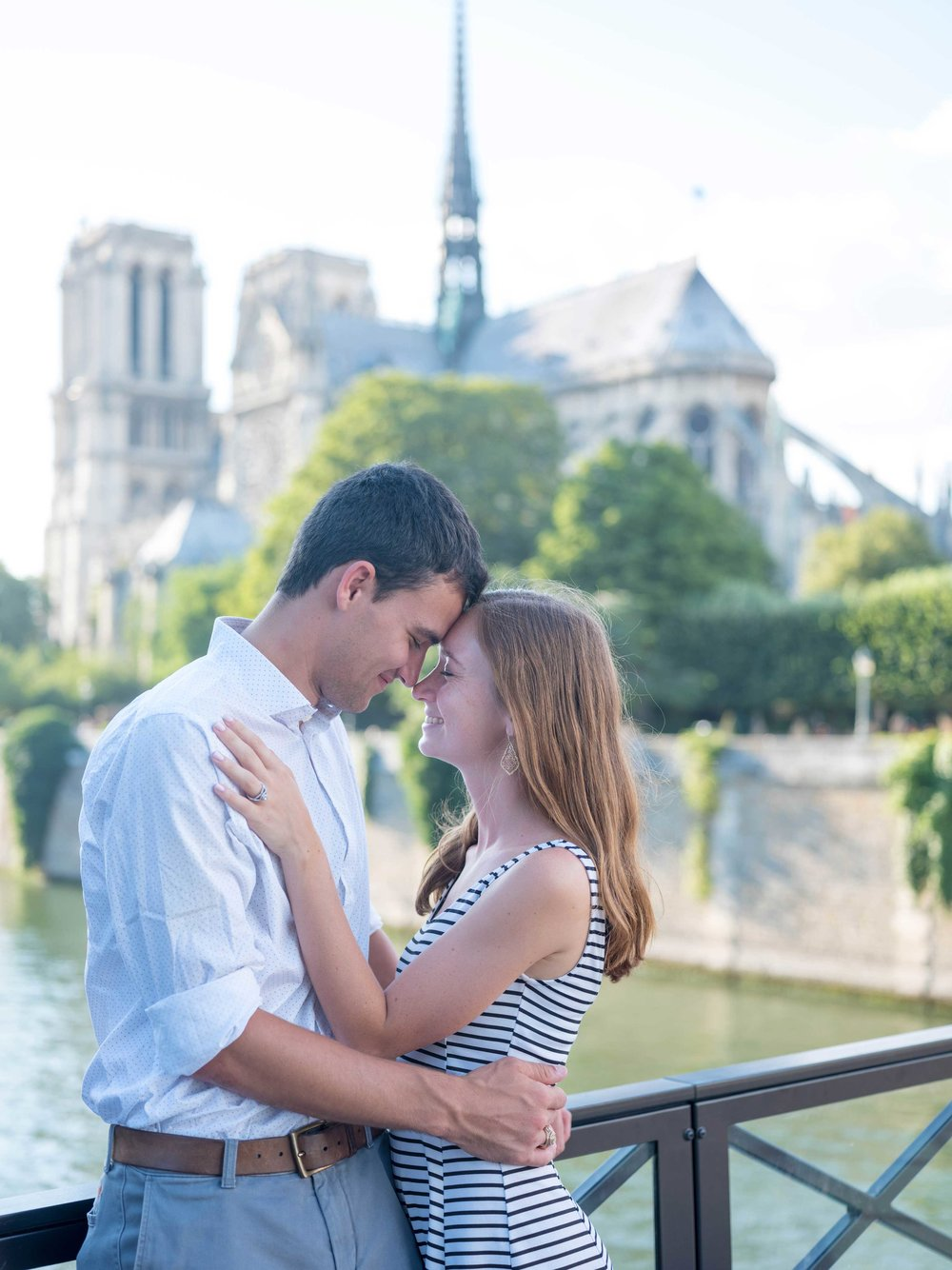 aaron & emily - Practically nothing makes my heart sing like a newly engaged couple. This special couple from the United States was so wonderful to work with! We started at the Eiffel Tower and ended up on the Ile St Louis for a beautiful late afternoon photo session.See more images here