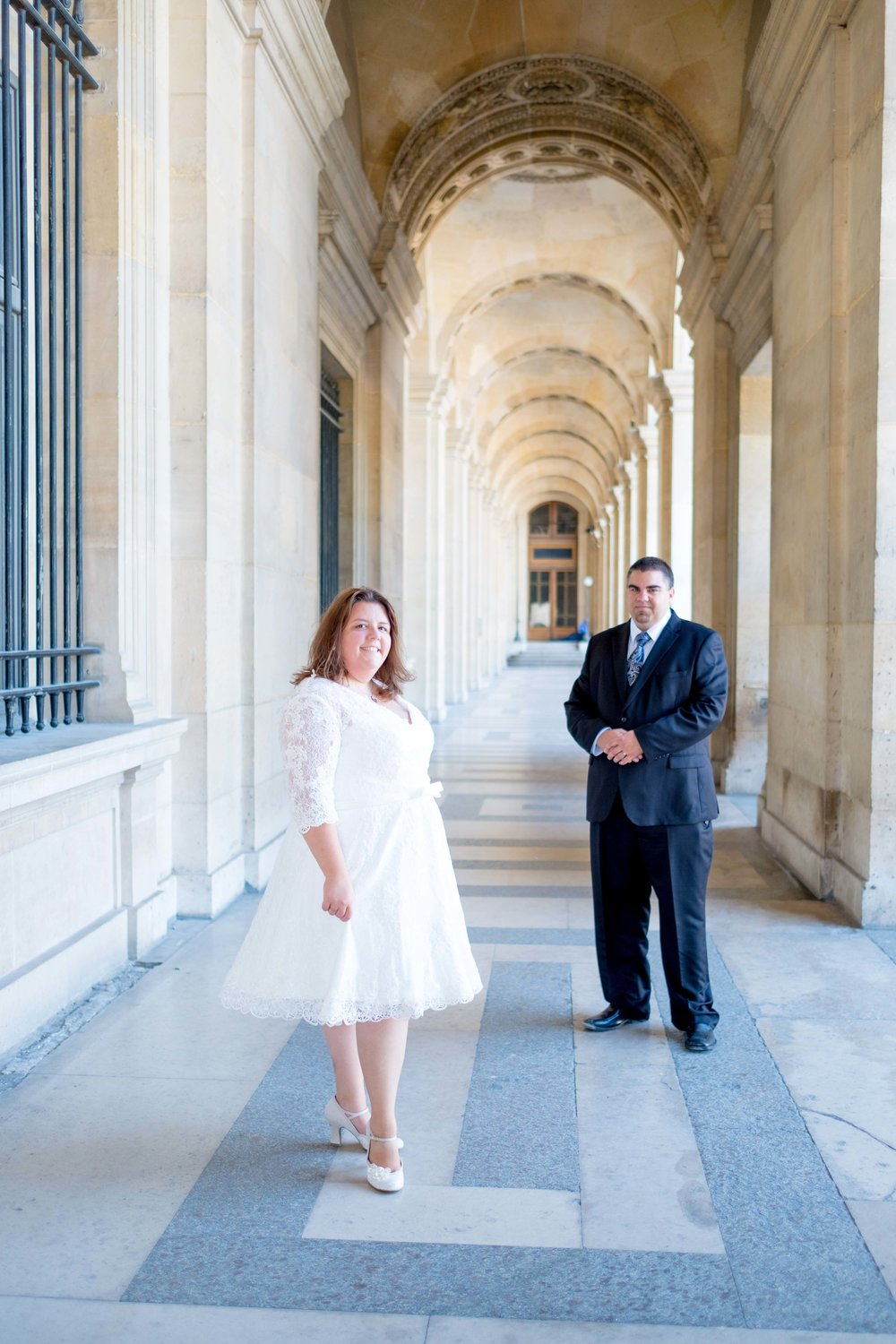 tammy & brian - I had the good fortune to work with these gorgeous newlyweds to capture their time in Paris. They both looked so sharp, and I loved the detail on Tammy's dress. They were sweet and funny and a joy to photograph! I wish them so much happiness in their married life.See more images below