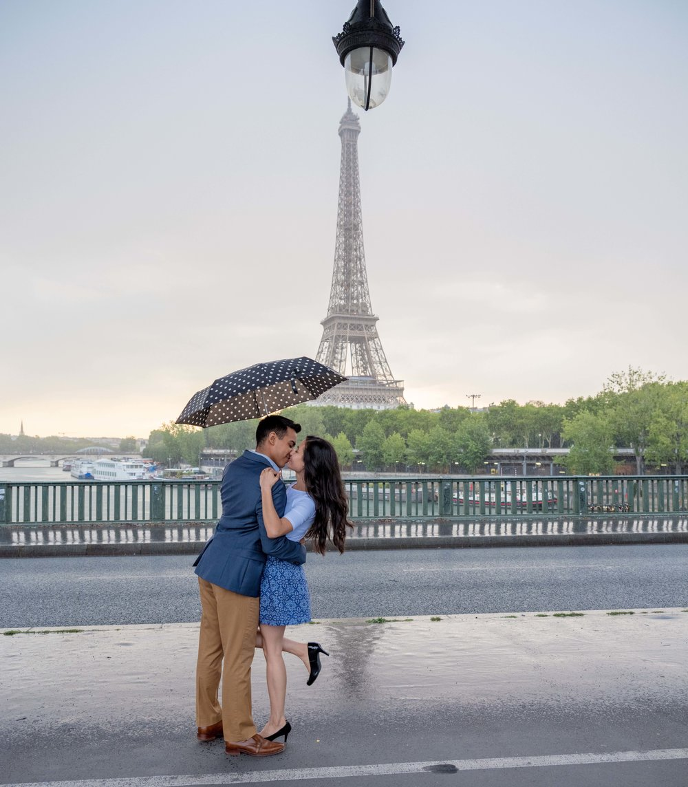 adrian & nayelly - I was honored to be a part of this sweet couple's surprise proposal at the Eiffel Tower. They were an absolute dream to work with and I thought their love was so inspiring, a try thing of beauty!See more images here
