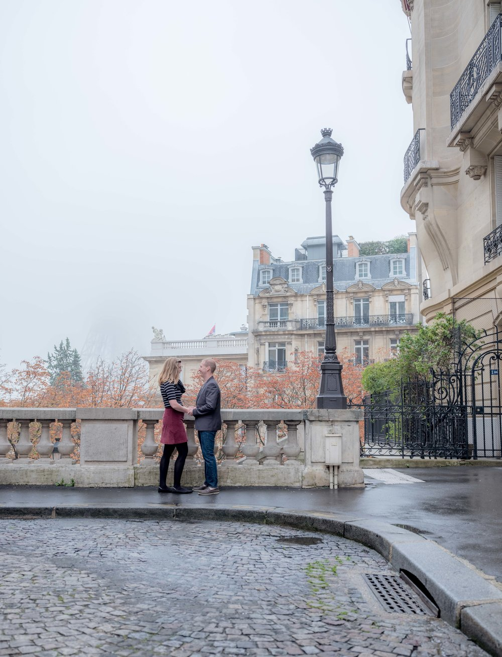 married couple in paris