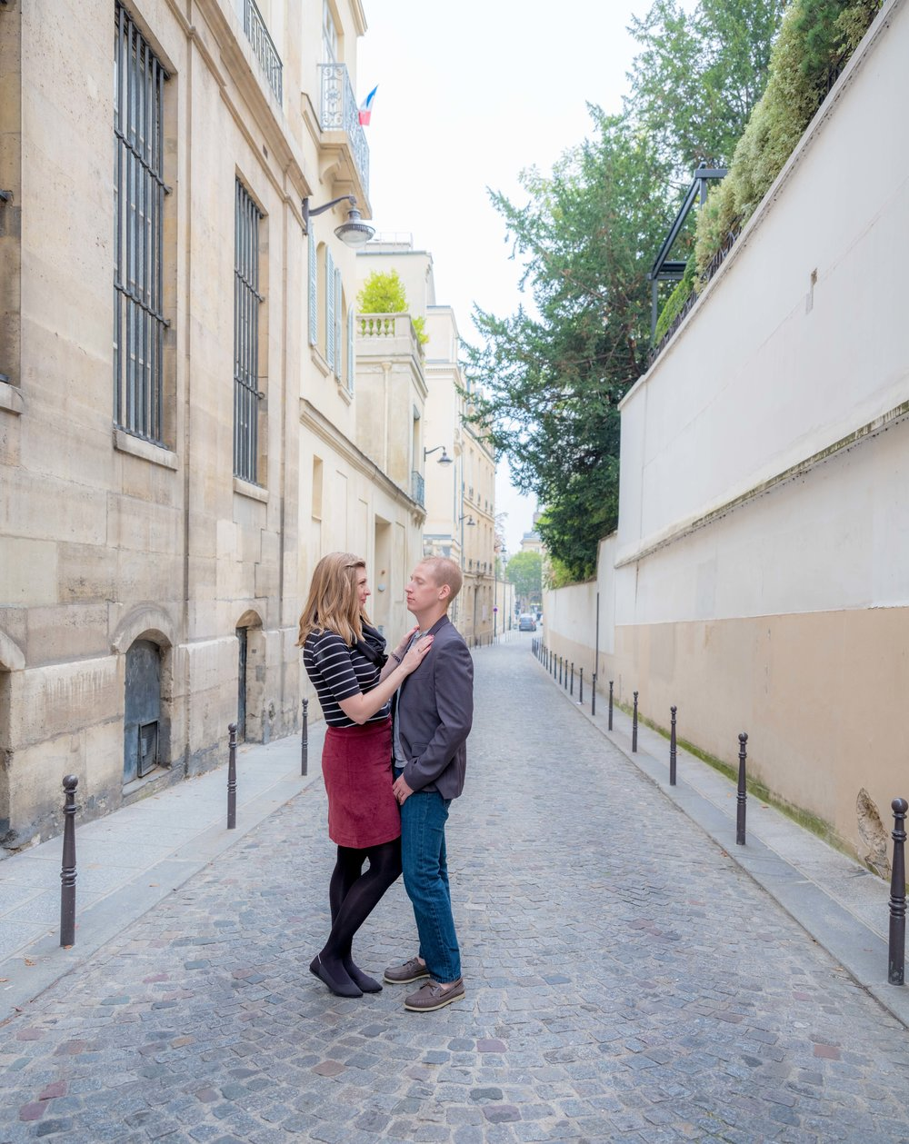 couple in st germain paris