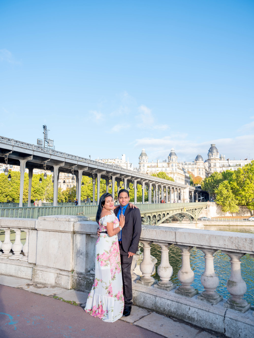 jean pierre & alisha - Magic. Thast's what this photo shoot was! A surprise proposal on a gorgeous Paris day and a couple so in love. My heart felt so happy spending time with this couple, congratulations!See more images here