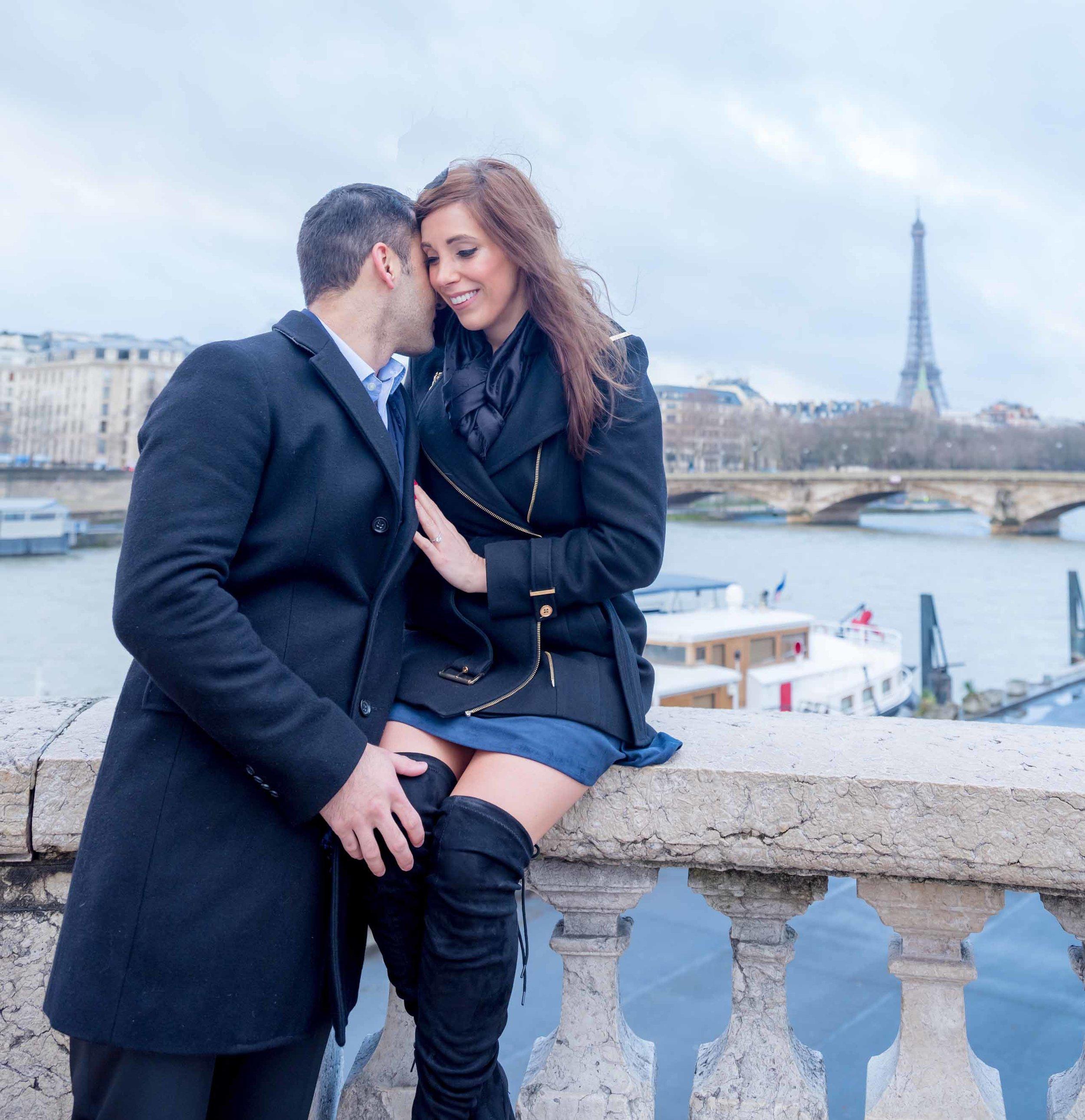Engagement photo session in dreamy Paris