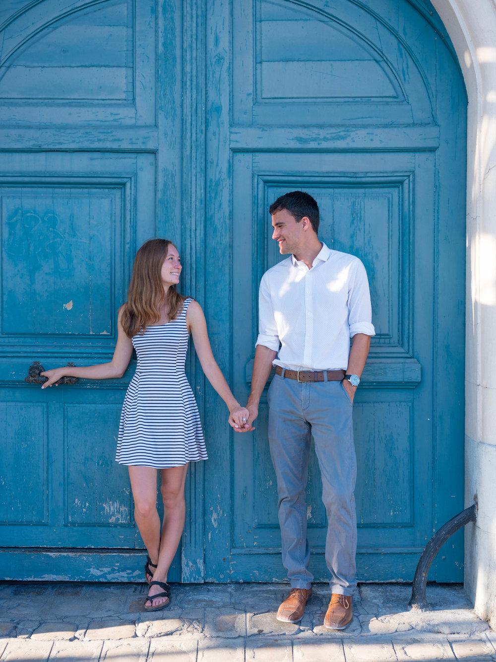 Another fantastic blue door in Paris
