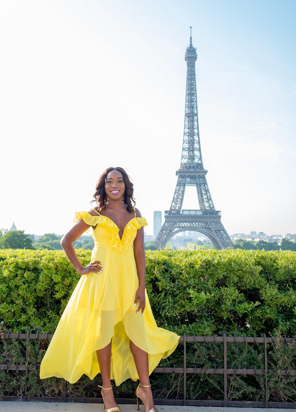 picture me paris dream photo shoot in paris france at eiffel tower