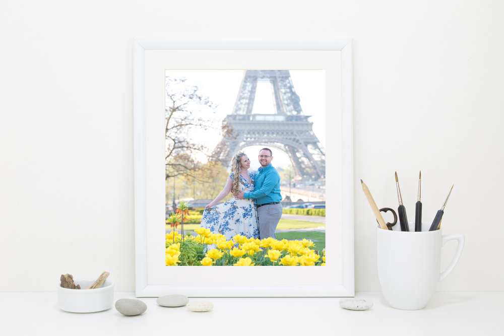 You have the option to order professional prints quickly and delivered direct to your home!