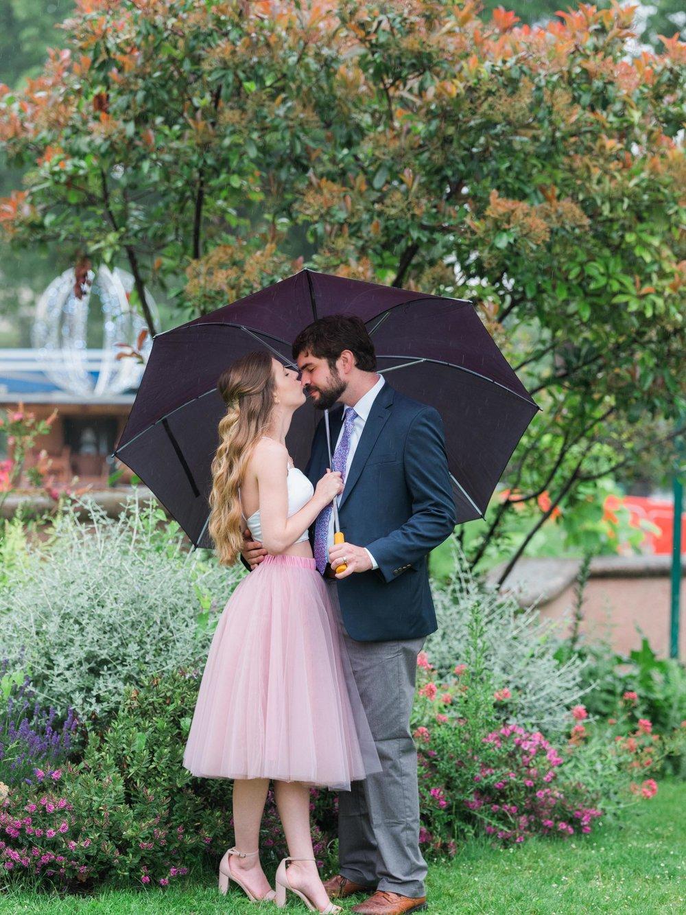 romantic rainy eiffel tower trocadero honeymoon photo shoot in paris france