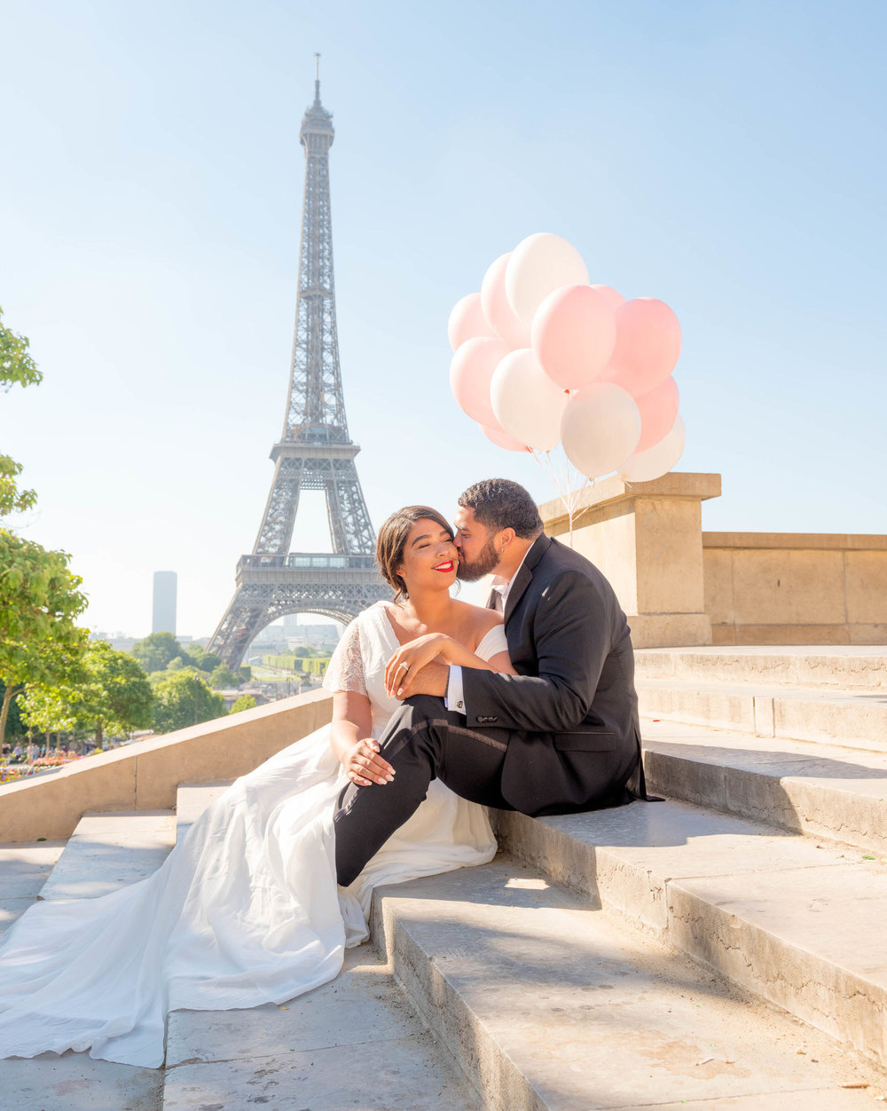 Honeymoon at the Eiffel Tower -