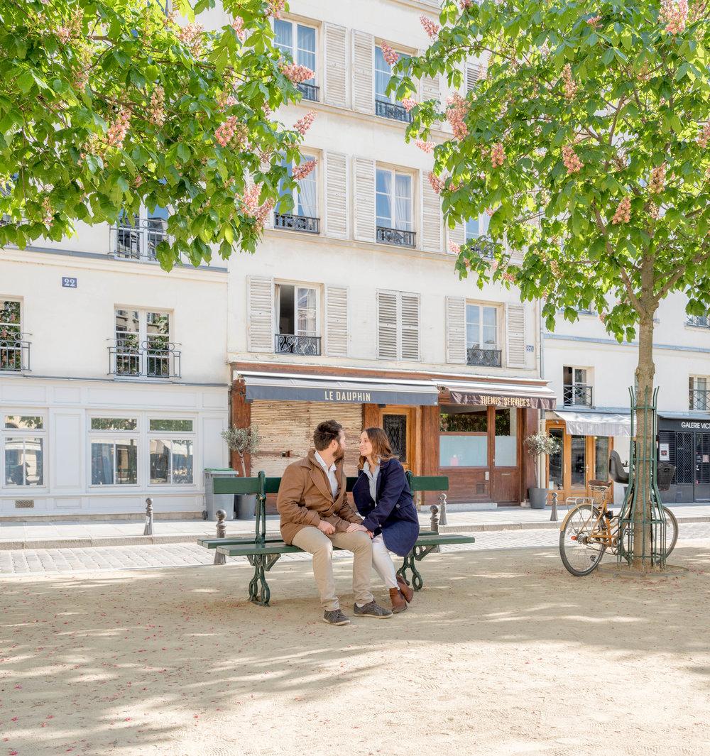 paris surprise proposal place dauphine