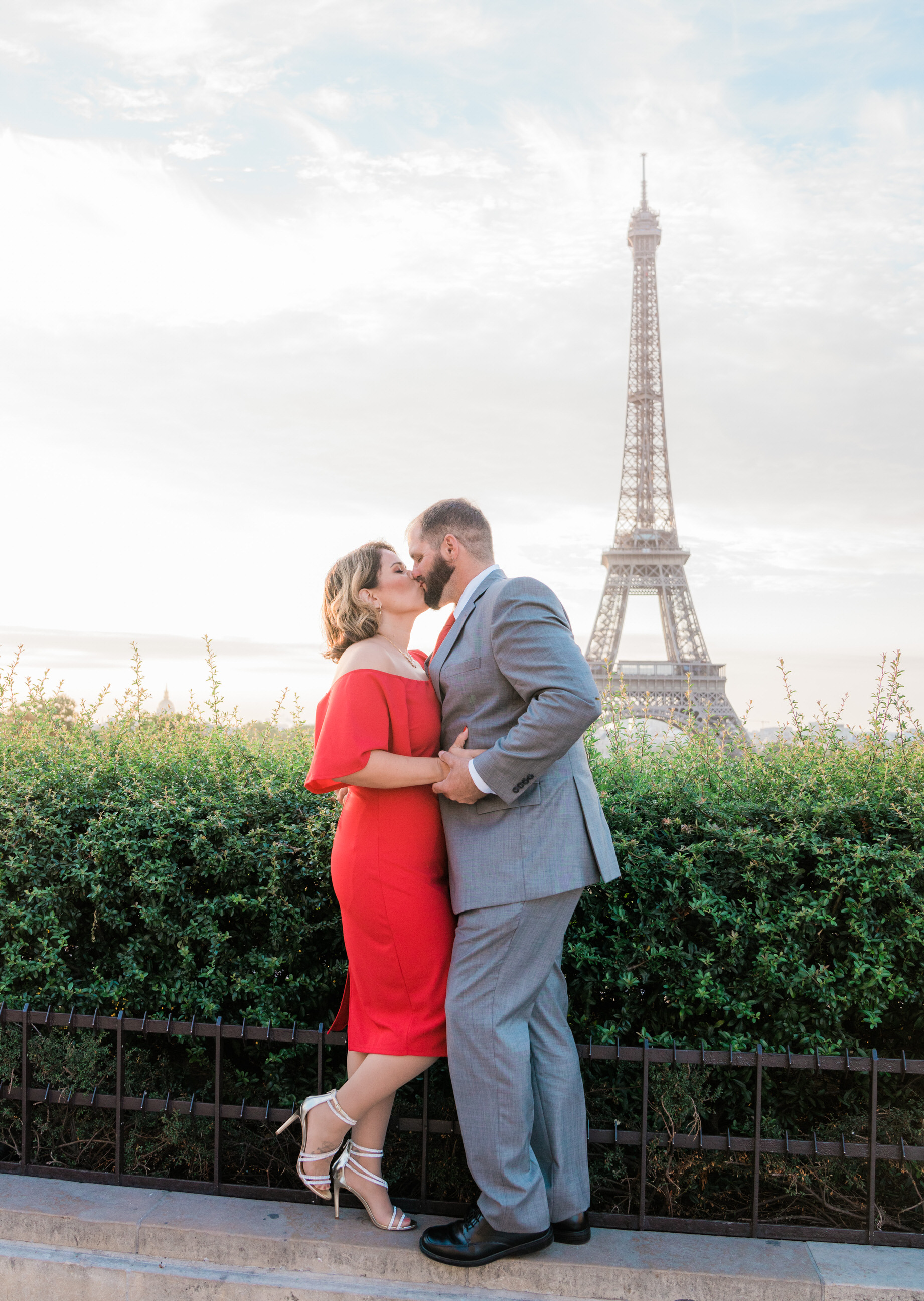 Celebrating a lifetime of love at the Eiffel Tower
