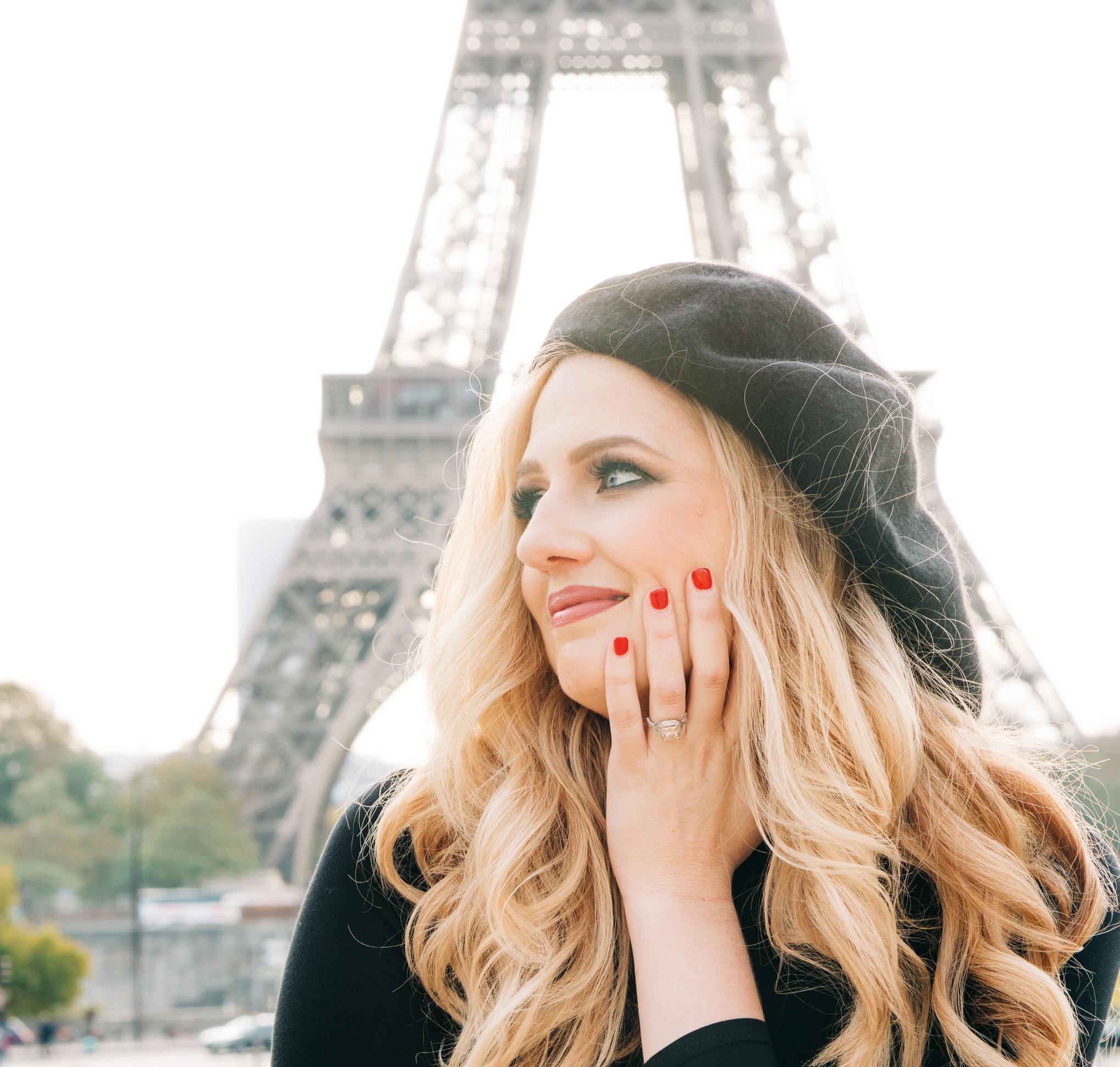 Hollywood glam in Paris