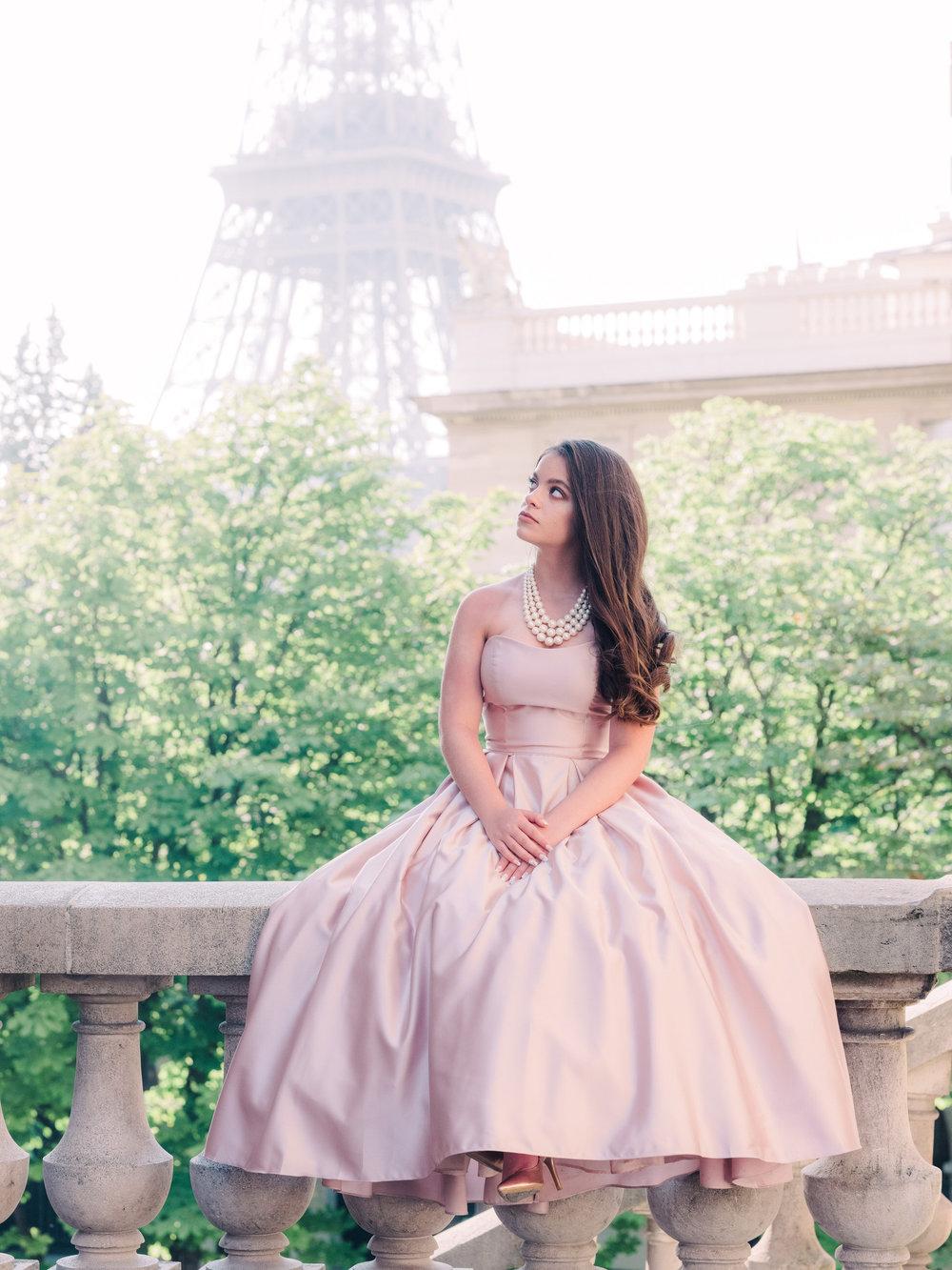 {Amanda's Quinceãnera} - a beautiful day in Paris